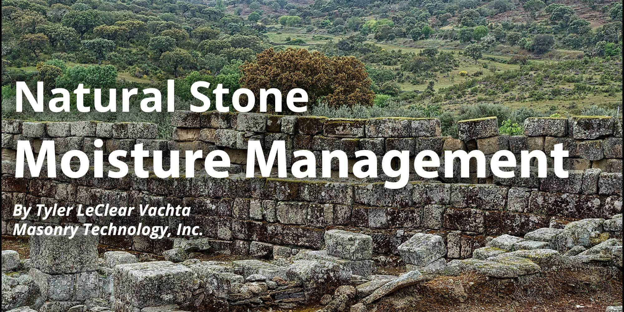 Natural Stone Moisture Management