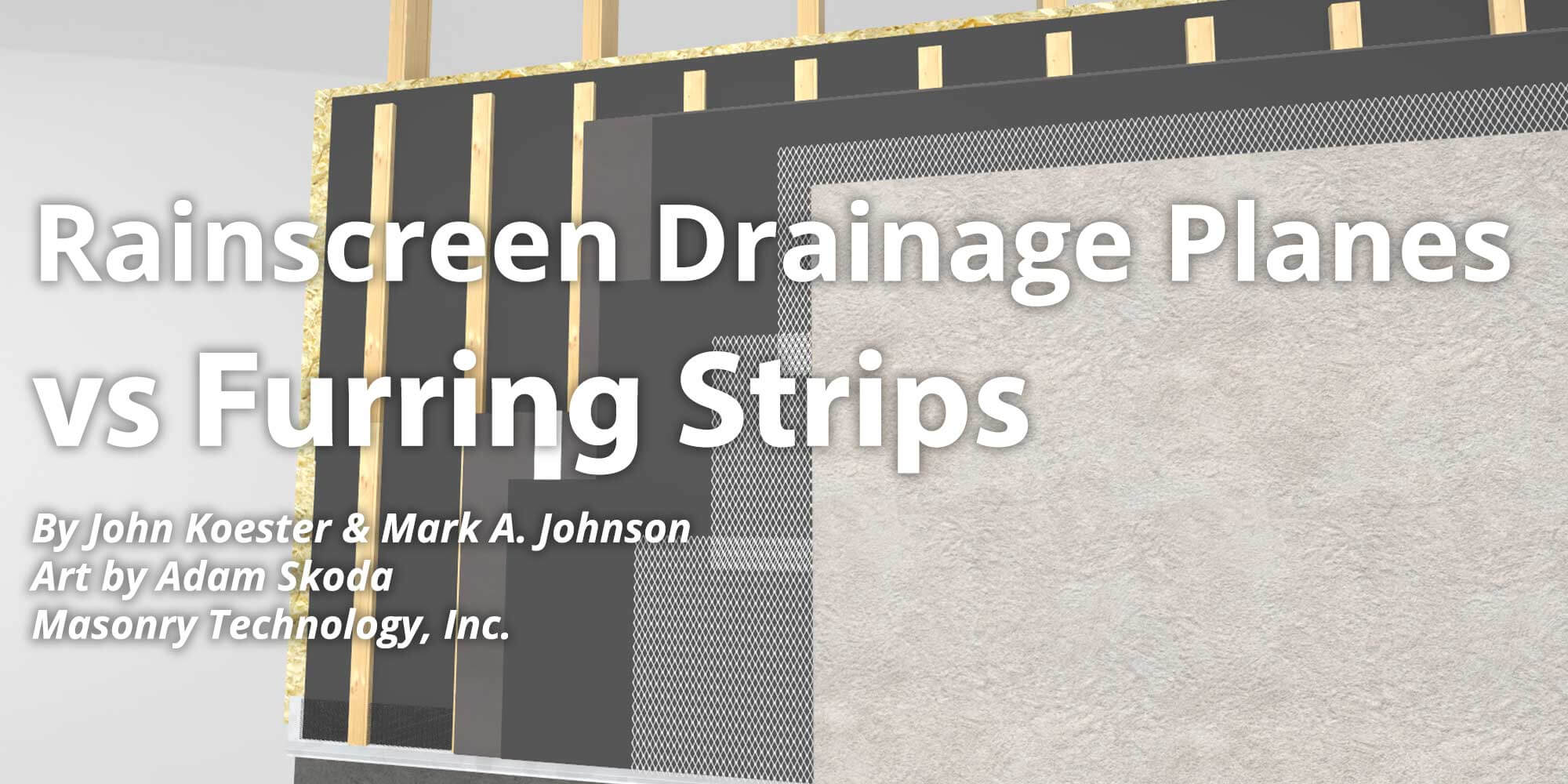 Rainscreen Drainage Planes Vs Furring Strips