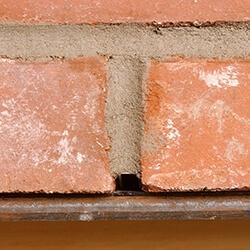Head Joint Weep Time Saving Weeps For Brick Veneers HJW - Brick weeps