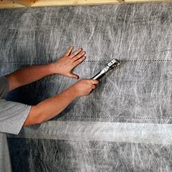 Gravity Cavity Rainscreen Drainage Mat