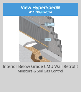 Basement Retrofit Detail